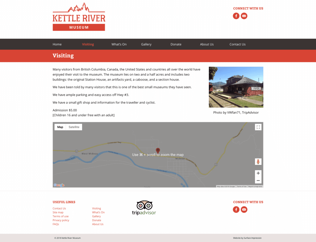 Kettle Visitors Page